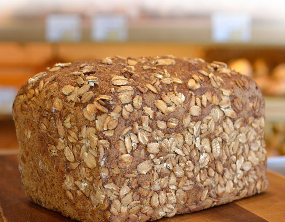 Brot aus Dinkelmehl