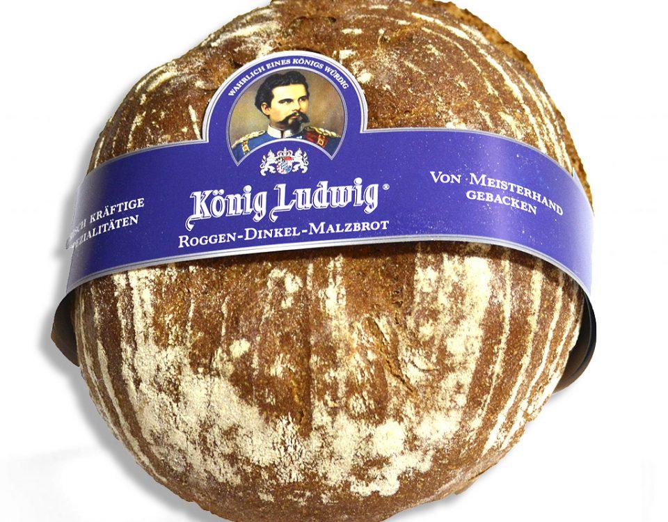 Roggen-Dinkel-Malz-Brot
